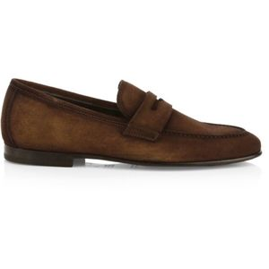 To Boot New York Enzo Suede Penny Loafers